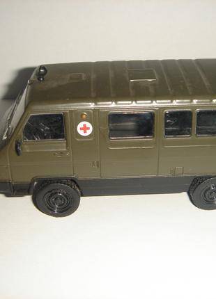 Машинка металлическая УАЗ - 3972. 1:43
