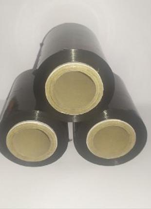 Стретч-пленка черная(насыщенно)  290г*10см*285м 9мкм
