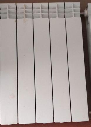 Радиаторы биметал 570/80 - 18 ребер