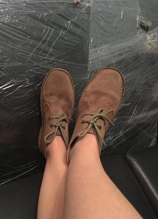 Дезерты нубуковые ботинки испания