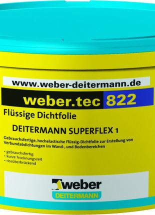 weber.tec 822 (Superflex®1) - эластичная жидкая мембрана
