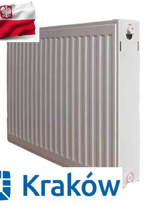Стальной панельный радиатор Krakow 22 тип 500*500