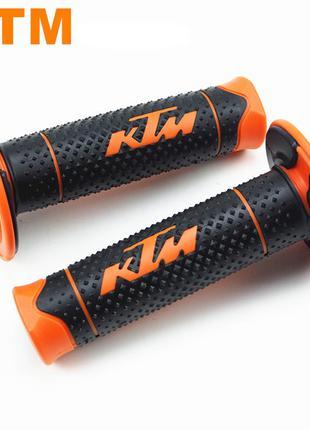 Грипсы KTM ручки руля на мотоцикл