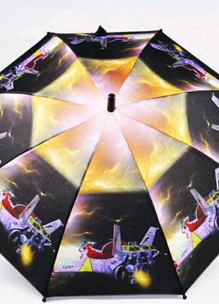 Зонт трость детская Lucky elephants механика