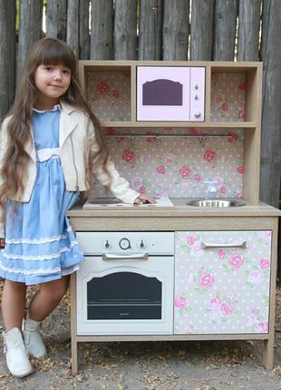Детская кухня/дитяча кухня/ игровая кухня/ кухня для девочки