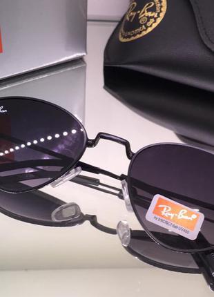 Трендовые солнцезащитные очки треугольники ray ban