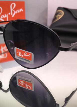 Стильные солнцезащитные очки ray ban треугольники
