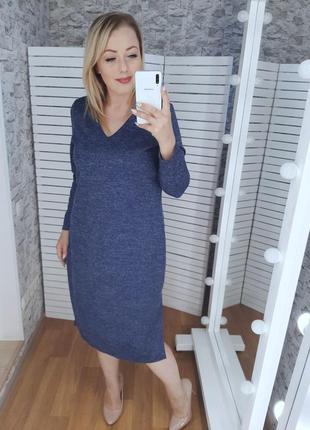 Платье батал цвета в ассортименте
