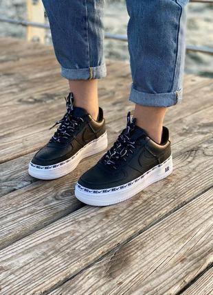 Nike air force black logo 🆕 шикарные кроссовки найк 🆕 купить н...