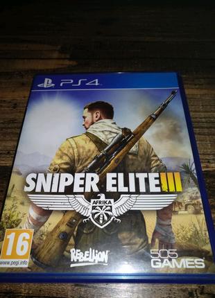 PS4 Sniper Elit 3