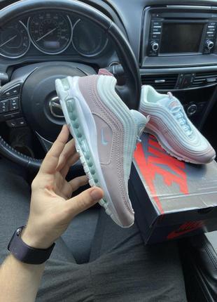 Женские кроссовки 🔸nike air max 97 pink white🔸