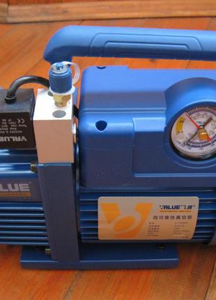 Вакуумный насос VALUE V-i120SV + подарок. R410A, R407C, R134a,...