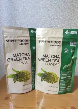 MRM, Зеленый чай матча в порошке, 170 г