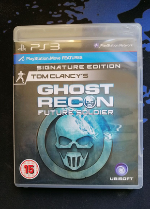 Tom Clancy's Ghost recon Future soldier для PS3