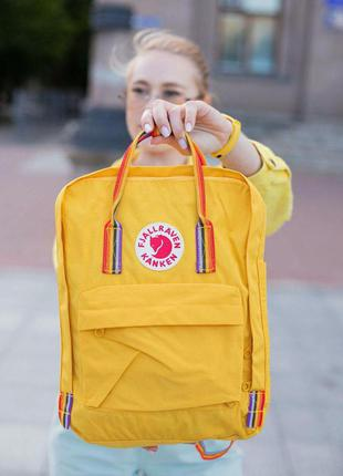 Рюкзак fjallraven kanken желтый ❤️