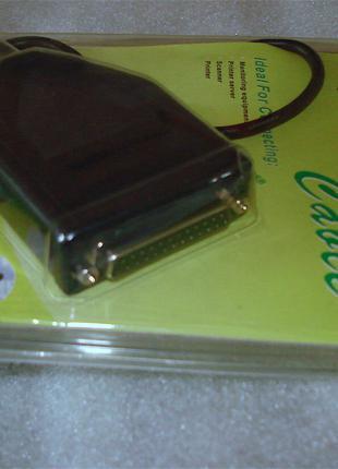 USB LPT DB25 адаптер,кабель USB LPT,принтер,сканер,CNC,3D,МФУ