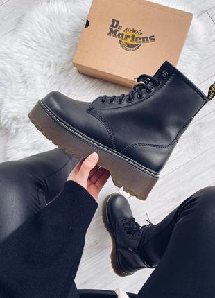 Зимние ботинки dr martens jadon platform boots на овчине 🆕 куп...