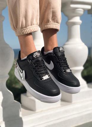 Nike air force 1 zip swoosh black 🆕 женские кроссовки 🆕 купить...