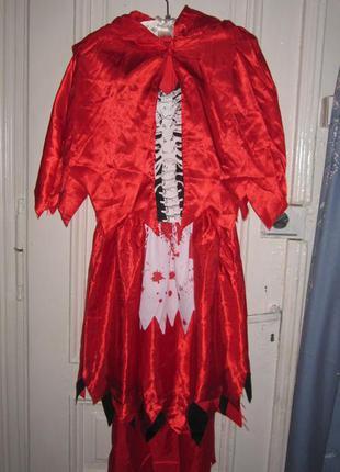 Платье карнавальноре.разм 8-10