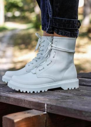 Dr. martens 1460 air wair white lux  🆕 осенние ботинки мартинс...