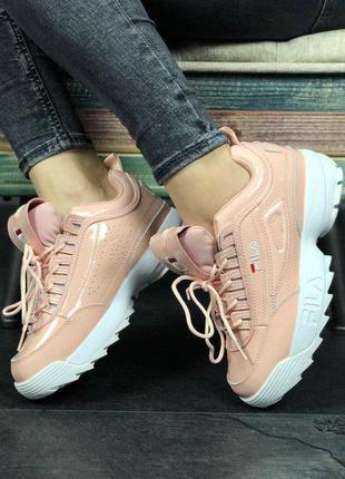 Fila disruptor ii sneakers pink 🆕 кроссовки фила 🆕 купить нало...