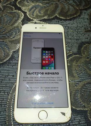 Продам Apple iPhone 6s заблокирован  iCloud на  запчасти