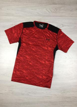 Фирменная спортивная футболка under armour для бега спорта cro...
