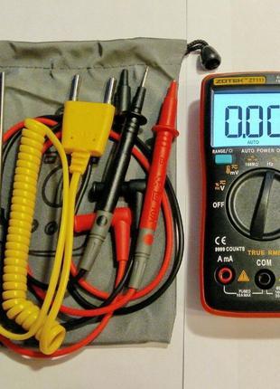 Мультиметр ZOTEK ZT111 ZT109, 9999 отсч., (RM111 RM109) 100 00...