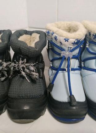 Зимние сапоги Демар 22-23, 24-25 размер, дутики для мальчика