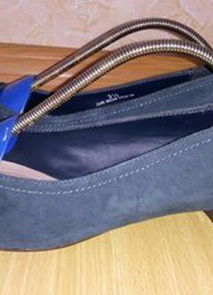 Footglove кожаные туфли 38 р по ст 25 см ширина 8 см каблук 3 см