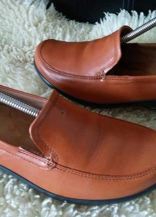 Hotter туфли кожа 41 р по ст 26.5 см ширина 9 см