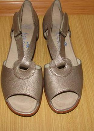Schneider кожаные босоножки