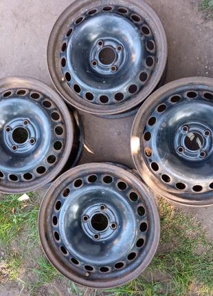 Диски оригинальные Renault стальные R15