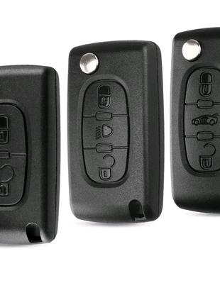 Корпус ключа Peugeot/Citroen