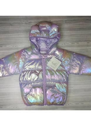 Курточка демі фіолет