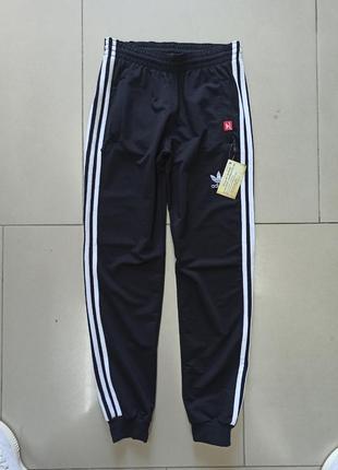 Мужские спортивные штаны адики три полоски