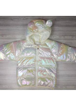 Курточка демі біла