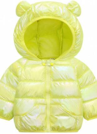 Курточка демі жовта