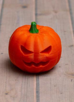 Тыква, Джек, хэллоуин, декор. 3D печать.