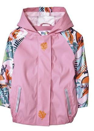 Непромокаемая куртка дождевик грязепруф без флиса lupilu ian  ...