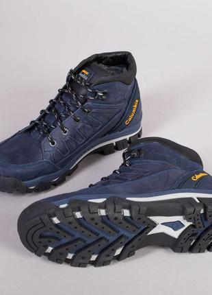 Мужские ботинки кожаные зима 💥