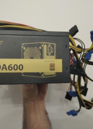 Блок питания Deepcool DA600 600 Вт 80 PLUS Bronze