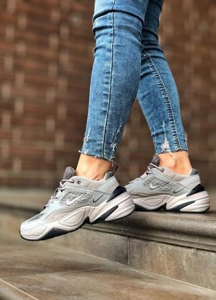 Nike m2k tekno grey шикарные женские кроссовки 😍
