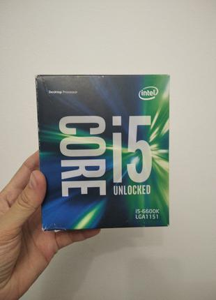 Процессор s1151v1 Intel Core i5-6600K