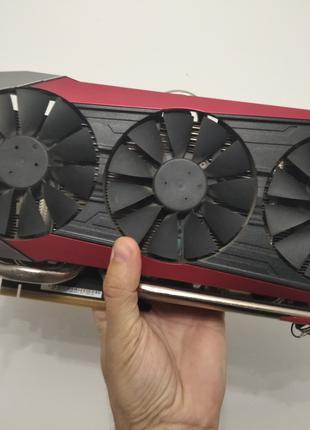 Видеокарта ASUS Strix R9 390X 8GB DDR5 (Без Майнинга!)