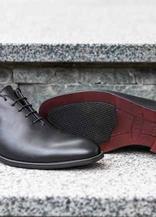Кожаные мужские туфли оксфорды дерби, броги