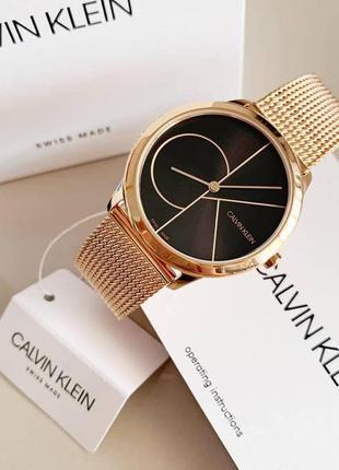 - 55% | женские швейцарские часы calvin klein minimal k3m226 (...