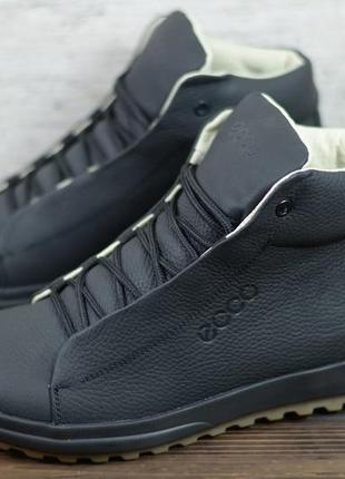 Ботинки кеды кроссовки мужские зимние натуральная кожа