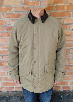 Barbour winter beauchamp jacket куртка утепленная оригинал (m-l)