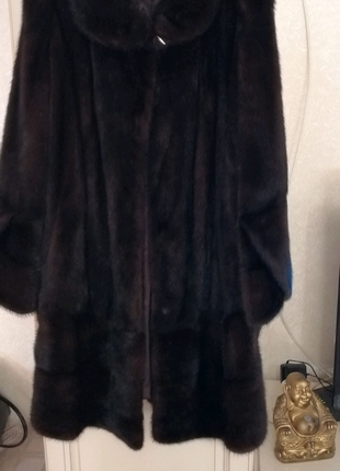 Шуба норковая размер 58-60